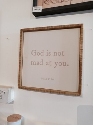 God Is Not Mad