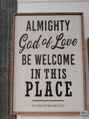 Almighty God 36x25