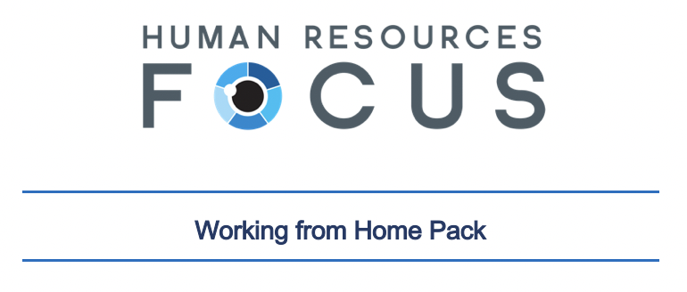Working from Home Pack - Policy, Agreement & Checklist