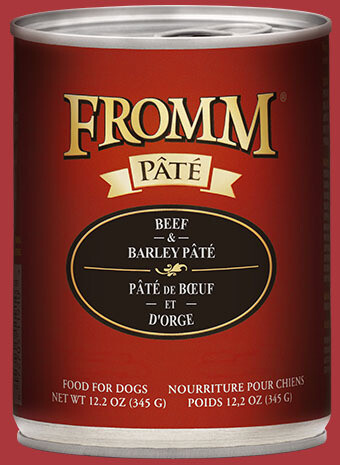 FROMM BEEF/BAR PATE 12oz