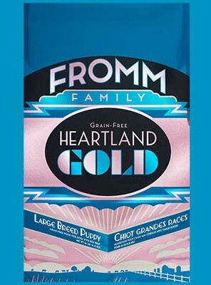 FROMM GOLD HEARTLAND L/B PUPPY  26#