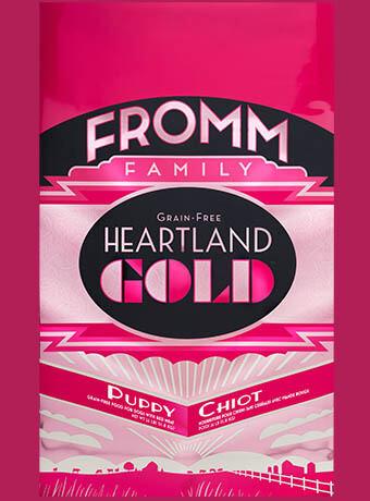 FROMM GOLD HEARTLAND PUPPY 4#