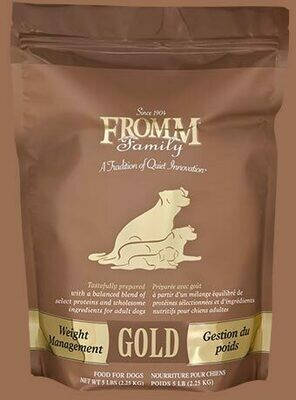 FROMM GOLD WGT MGMT 5#