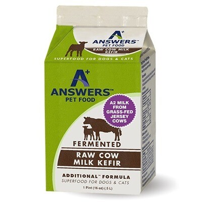 ANSWERS COW KEFIR PINT