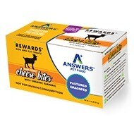 ANSWERS GOAT CHEESE TURMERIC TREAT 8oz