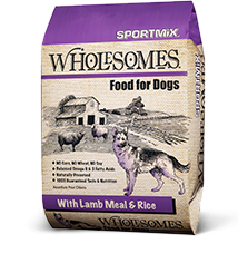 MPF WHOLESOMES LAMB/RICE 40#