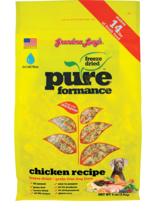GRANDMA LUCYS PURE CHICKEN 3#