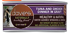 DAVES CAT TUNA/CHX 5.5oz