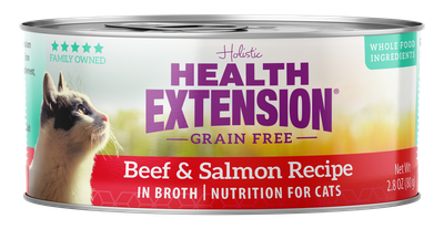HEALTH EXT CAT BEEF/SALM 2.8oz