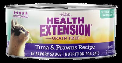 HEALTH EXT CAT TUNA/PRAWN 2.8oz