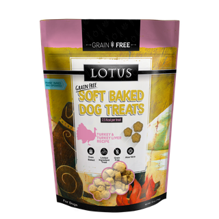 LOTUS SOFT BAKED TURKEY/LIVER 10OZ