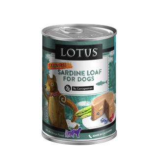 LOTUS GF LOAF SARDINES 12.5oz