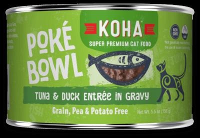 KOHA CAT POKE TUNA/DUCK 5.5oz