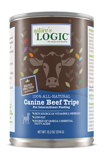 NATURES LOGIC XXX BEEF TRIPE 13oz