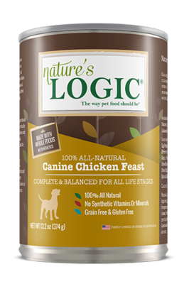 NATURES LOGIC CHICKEN 13.2oz