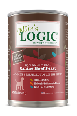 NATURES LOGIC  BEEF 13.2oz