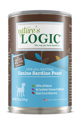 NATURES LOGIC SARDINE 13.2oz