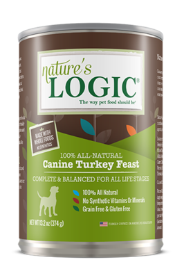 NATURES LOGIC TURKEY 13.2oz