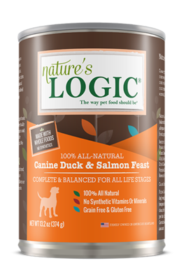 NATURES LOGIC DUCK/SALM 13.2oz
