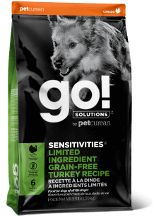 PETCUREAN GO LID SEN TURKEY 3.5#
