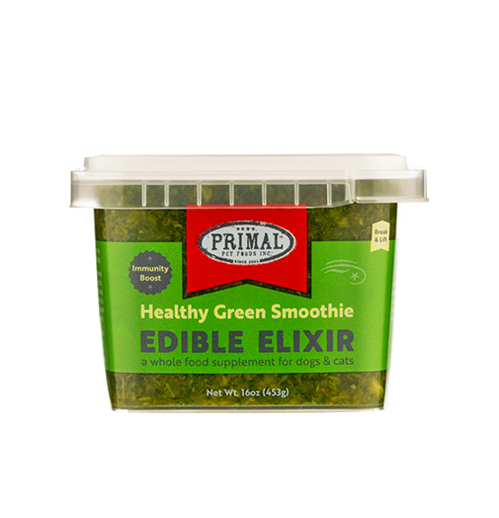 PRIMAL ELIXIR GREEN SMOOTHIE 16oz