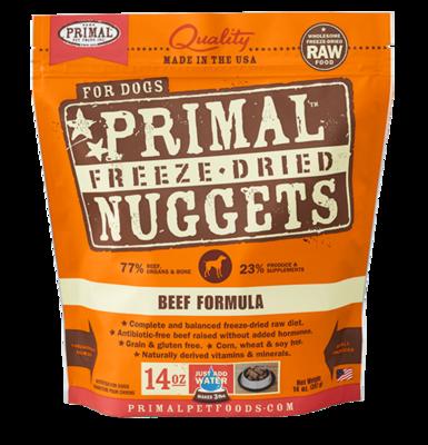 PRIMAL NUGGETS BEEF 3#