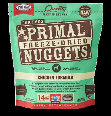 PRIMAL NUGGETS CHICKEN 3#