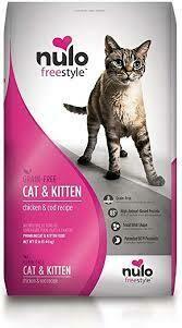 NULO CAT & KITTEN CHX/COD 12#