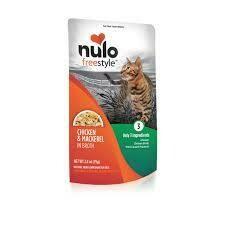 NULO XXX CAT CHX/MACK 2.8oz POUCH