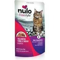 NULO XXX CAT TUNA/SHRIMP 2.8oz POUCH