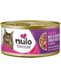 NULO CAT SHRED BEEF/TROUT 3oz