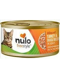 NULO CAT MINCED TKY/DUCK 3oz