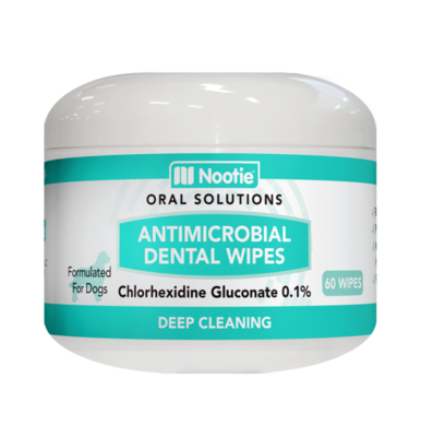 NOOTIE ANTIMICROBIAL DENTAL WIPES