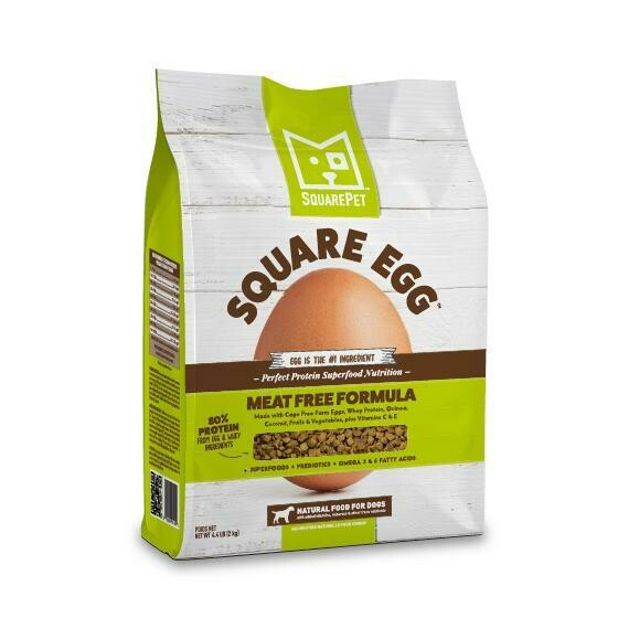 SQUAREPET EGG NO MEAT 4.4#