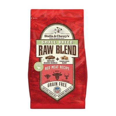 S&C RAW BLEND SB RED MEA  3.5#