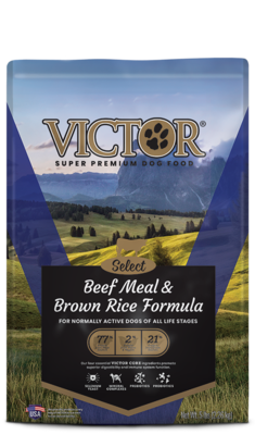 VICTOR SEL BEEF/RICE 40#