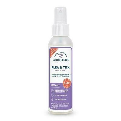 WONDERCIDE FLEA & TICK ROSEMARY 4oz