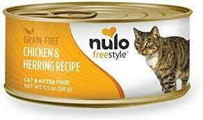 NULO CAT PATE CHX/HERR 5.5OZ