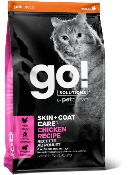 PETCUREAN GO CAT SK+CT CHICKEN 3#