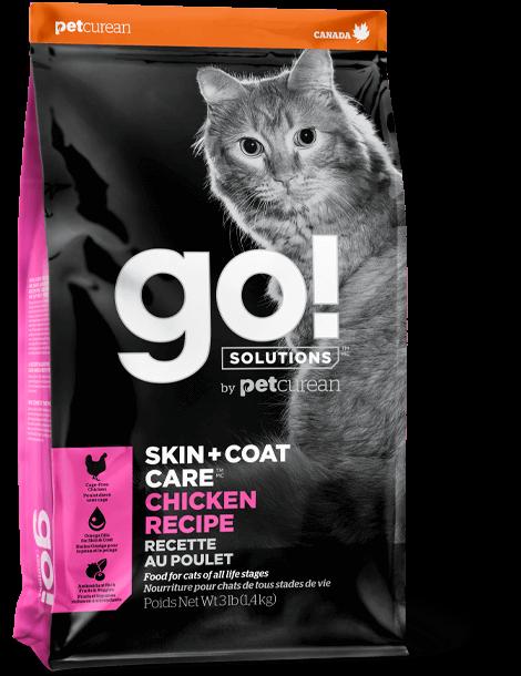 PETCUREAN GO CAT SK+CT CHICKEN 16#