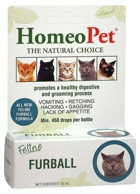 HOMEOPET FELINE FURBALL 15ML