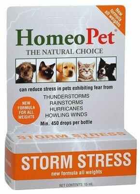 HOMEOPET STORM STRESS 20-80 LB