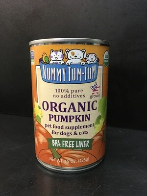 NUMMY PUREE PUMPKIN 15oz
