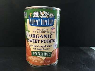 NUMMY PUREE SWEET POTATO 15oz
