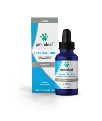 PET RELEAF CBD 500 1oz/30ml