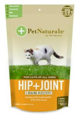 PET NAT CAT HIP & JOINT CHEW 30CT