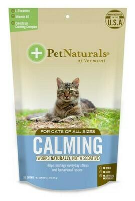 PET NAT CAT CALMING CHEW 30ct