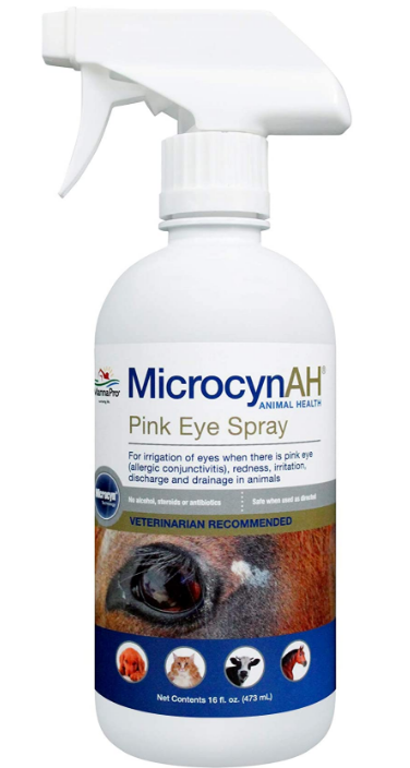 MANNACARE PINK EYE 16OZ