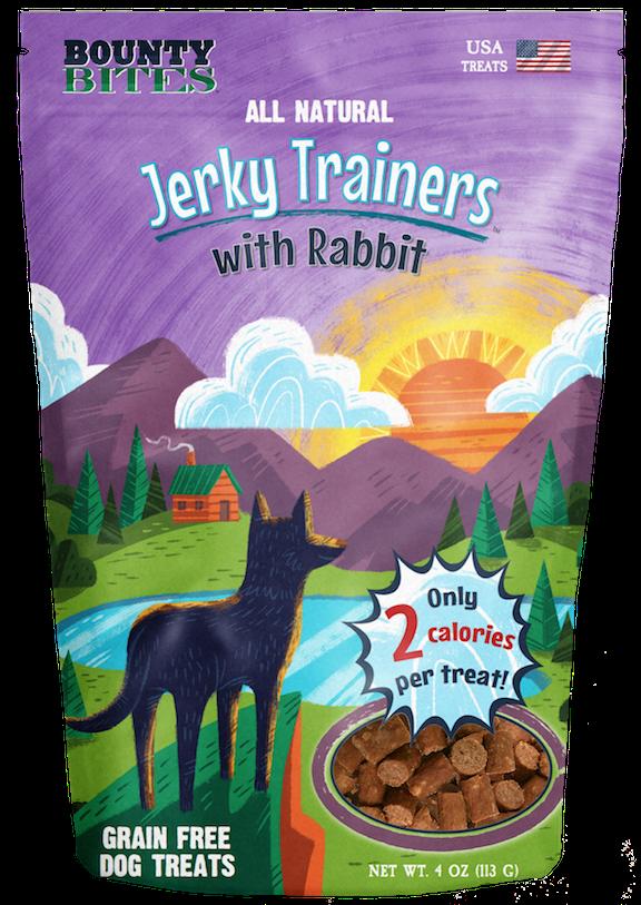 WMF JERKY TRAINERS RABBIT 4oz