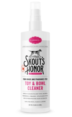 SKOUTS TOY & BOWL CLEANER 8oz